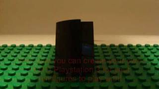How To Build A LEGO Playstation 3 (Version 2.0)