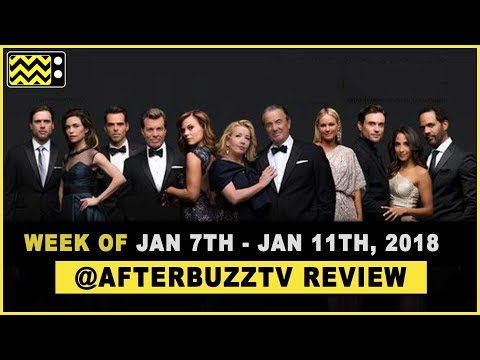 The Young & The Restless for  January 7th - January 11th, 2019 Review & After Show