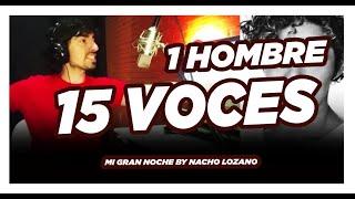 15 voces 1 cantante - Mi gran Noche (imitaciones)