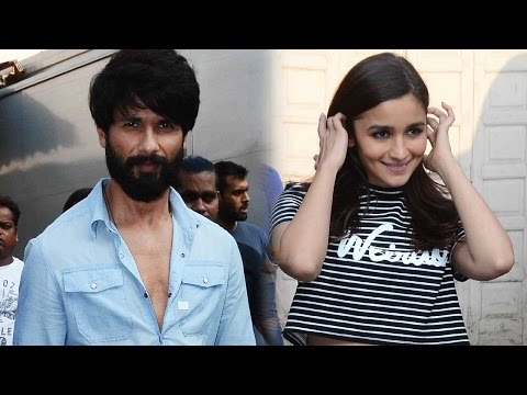 Spotted: Shahid Kapoor And Alia Bhatt At Mehboob S