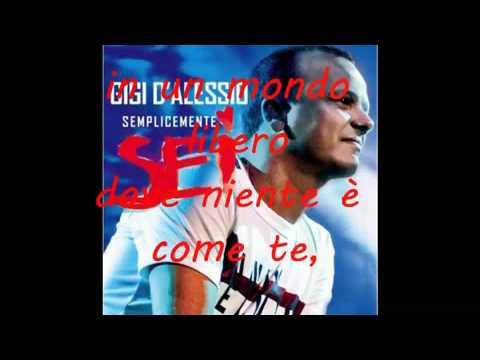 , title : 'Gigi D'Alessio - Libero Testo'