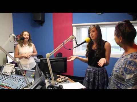 The cast of Tony N' Tina's Weddding visit Sea FM