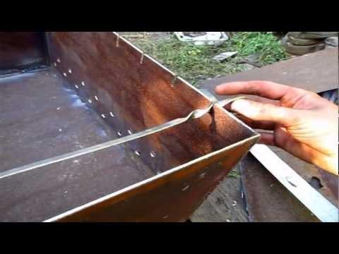 Шашлычница из металла своими руками