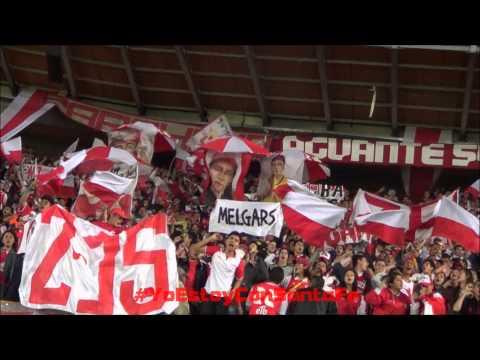 SEGUIREMOS UNIDOS POR NUESTRA FE - IND SANTA FE Vs Atlético Nacional - Cuadrangulares Clausura 2013 - La Guardia Albi Roja Sur - Independiente Santa Fe