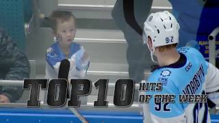 KHL Top 10 Hits for Week 24
