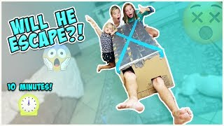 Things get super crazy today!! Jesse tries to escape from a box that is taped shut! He only gets a few tools and 10 minutes to...