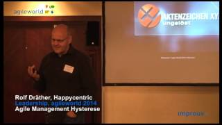 Agile Management Hysterese