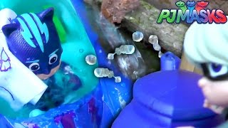 In this PJ Masks Episode Luna Girl spins Owlette around so she can't get home. Catboy draws her a map but then Luna Girl does a Water Attack Glitch to soak the map.But, no fear, the Deluxe Cat Car saves the day and keeps the new map dry and owlette gets home.