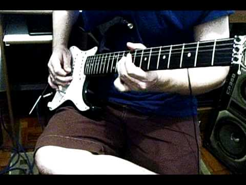 Pink Floyd – The Dark Side of the Moon – Time (Solo) – Cover – David Gilmour's GREAT solo!