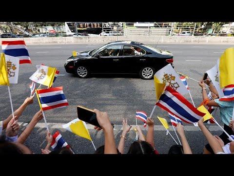 Ο Πάπας Φραγκίσκος στην Τα¨ϊλάνδη