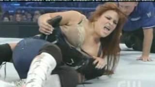 Maria vs Natalya (Maryse intereferes)