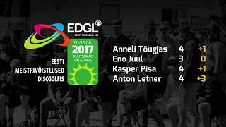 Eesti meistrivõistlused discgolfis 2017.