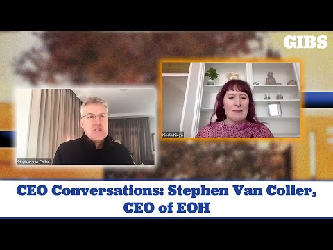 CEO Conversations: Stephen Van Coller, CEO of EOH