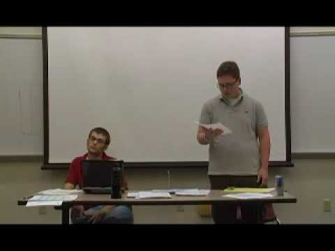 1 Policy Debate Demo 2009.10