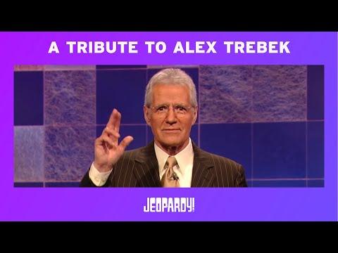 A Tribute To Alex Trebek   JEOPARDY!