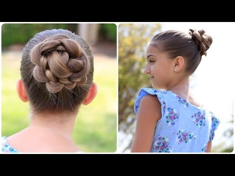 How to Create a 3D Flower Bun | Cute Updos