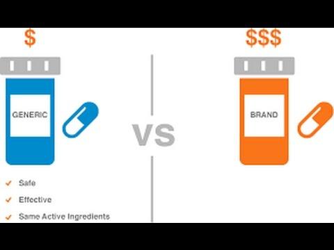 Brand v  Generic Drugs