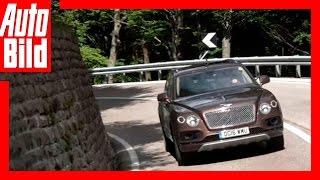 Bentley Bentayga Tour- Videotagebuch Etappe 10-12 by Auto Bild