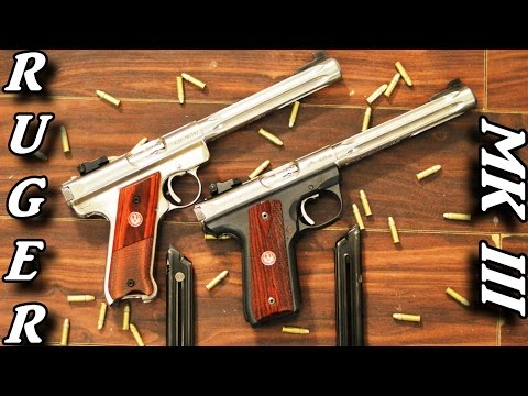 Ruger - This review is of the Ruger Mark III Hunter pistols in both standard and 22/45 configurations. This review is based largely on my opinions not fact. The part...