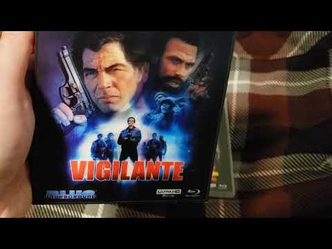 Up Close of Vigilante (2020 4K Restoration Blue Underground) 4K Bluray