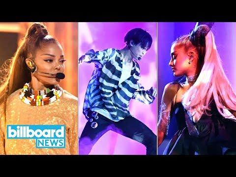 Billboard Music Awards Highlights: BTS, Janet Jackson, Ariana Grande & More!   Billboard News