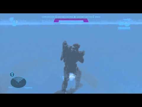 Halo Reach - Walking under Water?