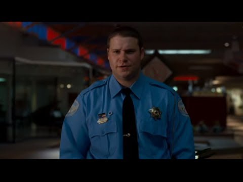 "Observe and Report Movie, Mall ""Seth Rogan"" fight scene(uncut)"
