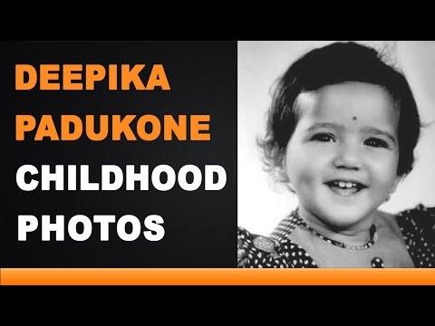 Deepika Padukone Childhood Photos