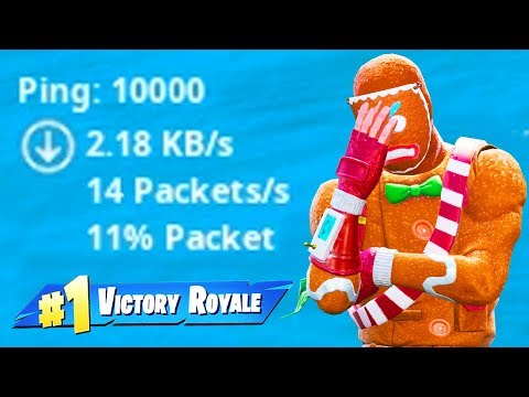 fortnite with 10000 PING - Thời lượng: 10:08.