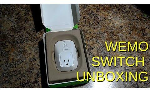 Belkin Wemo Switch Unboxing