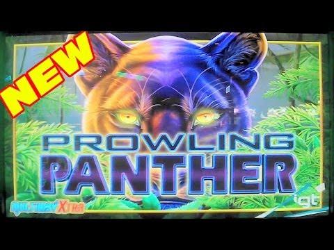Prowling Panther NEW SLOT MACHINE Las Vegas Slots Win