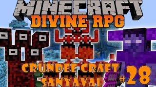 Minecraft Crundee Craft 28. rész Divine RPG 4. fejezet: Két dimenzióban is járok