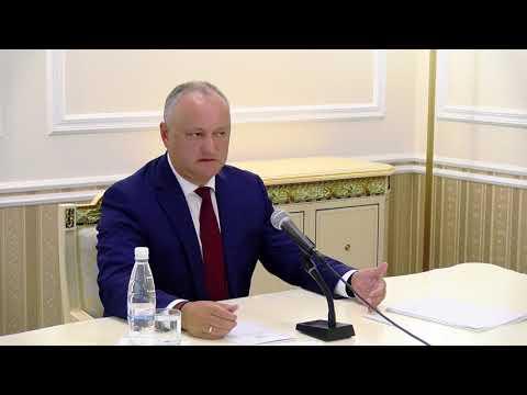 Președintele Igor Dodon a avut o întrevedere cu reprezentanții Diasporei moldovenești din cîteva țări ale lumii