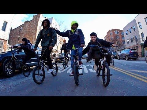 Big BMX Crew in Brooklyn! (FTL) (видео)