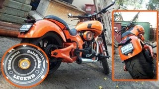 Balakrishna's Legend Bike Pics Collection