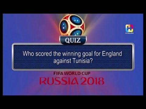 (Who scored the winning goal for England against Tunisia | HIMALAYA WORLD CUP FEVER - Duration: 84 seconds.)