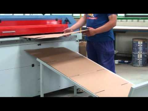 Machine Corrugated - Automatic machine for production of cardboard boxes. BOXmat 2400 Boxmakers provide perfect solution for short run production of boxes or large scale box manu...