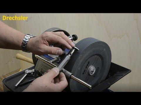 Drechseln: Schaber schleifen (Werkzeugschärfen Teil 5)