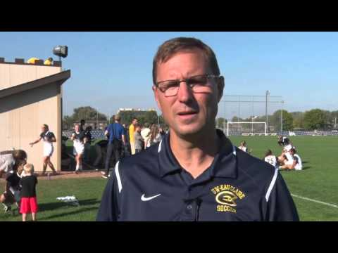 Coach Yengo recaps 2-0 win over No. 14 Augsburg