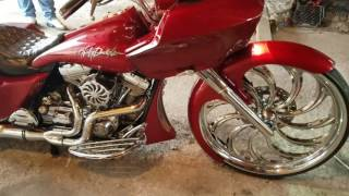 9. 2009 Harley Davidson Roadglide on a 30