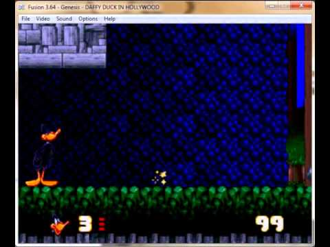 Daffy Duck in Hollywood Megadrive