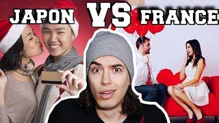 SAINT VALENTIN  FRANCE VS JAPON - LE PANDAMAN