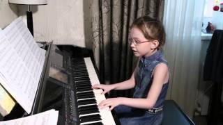 Пьяное солнце, (cover Alekseev ), Виктория Викторовна, 7 лет