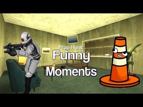 Prop hunt Funny moments w: tyman 53
