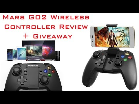 Tronsmart Mars G02 Wireless Gamepad Review & Giveaway