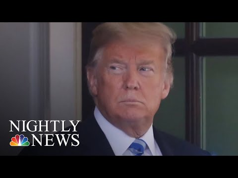 President Trump Falsely Blames Democrats For Inflating Hurricane Maria Death Toll | NBC Nightly News
