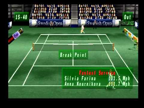Actua Tennis #1