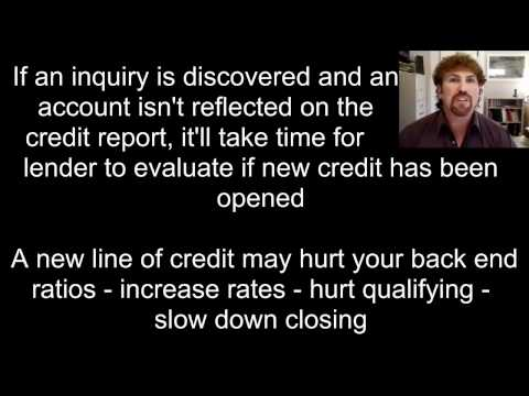 Mortgage Credit Inquiry Underwriting Guideline Change - Multi  Real Estate Services