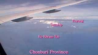 Thai Airways Flight, Kuala Lumpur To Bangkok 2013