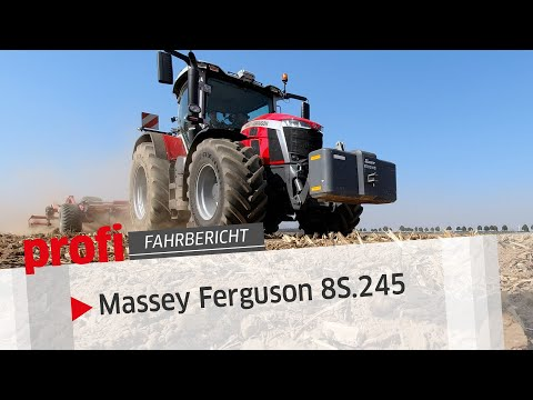 Exklusiv: Massey Ferguson 8S.245 | profi #Fahrbericht
